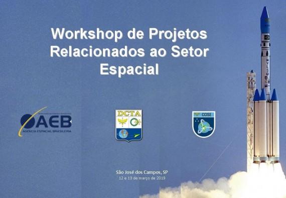Projetos relacionados ao setor espacial são discutidos em workshop