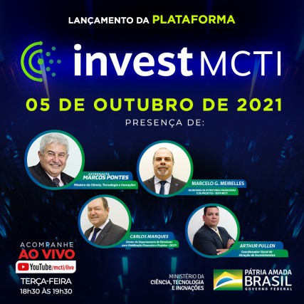 Lançamento da Plataforma investMCTI
